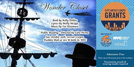 """Wonder Closet"" Free Public Reading tickets"