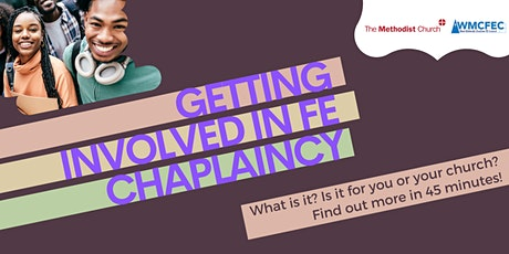 Getting involved in FE chaplaincy: What is it? Is it for you/your church? tickets