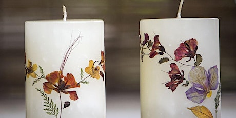 DIY Pressed Flower Candles with Amira Chappelle Brooks[ALL AGES] tickets