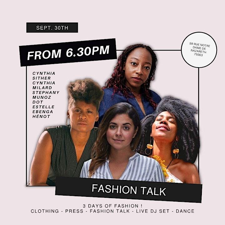 Image pour Fashion Talk - eeH Pop Up Paris Fashion Week