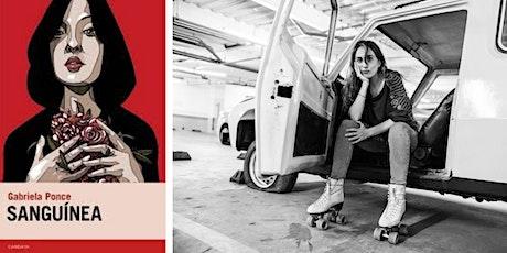 Presentación de 'Sanguínea' de Gabriela Ponce (Ecuador) entradas