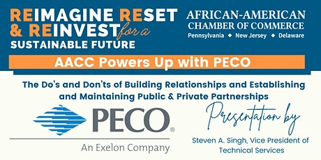 AACC Power Up with PECO: Building Relationships & Partnerships tickets
