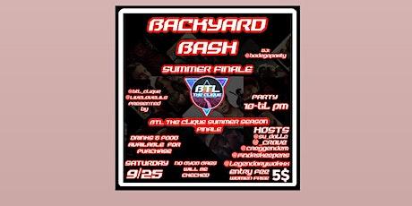 BTL BACKYARD BASH SUMMER FINALE tickets