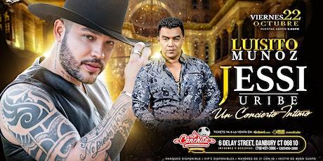Jessi Uribe y Luisito Muñoz tickets