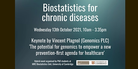 Biostatistics for chronic diseases symposium tickets