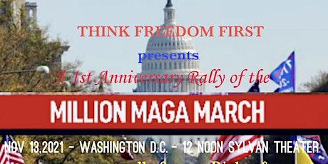 Think Freedom First! tickets