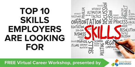 The Top 10 Most Sought-After Skills by Employers tickets