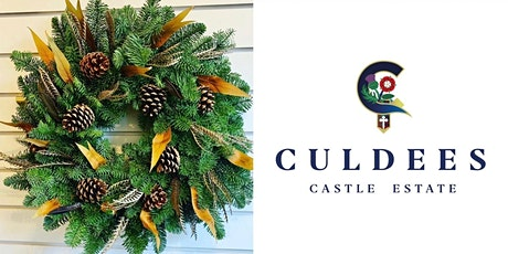 Christmas Wreath making class at Culdees Castle tickets