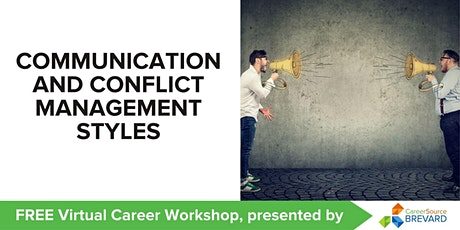 Communication and Conflict Management Styles tickets