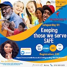 SAFEGUARDING 101: Keeping those we serve SAFE tickets