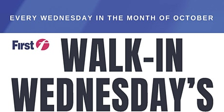 Walk-In Wednesday's - First Student Mount Vernon, NY tickets