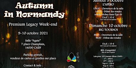 Autumn In Normandy 2021 - CMN billets