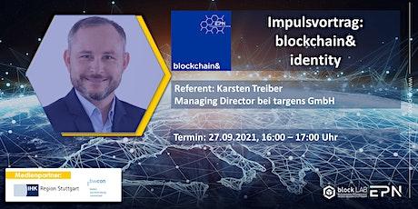 blockchain& identity Tickets