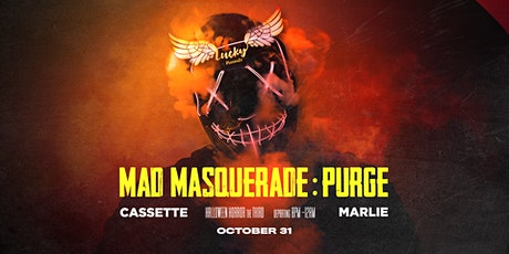 Boat Party // Lucky Presents 'Halloween Masquerade' ft Cassette & Marlie tickets