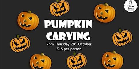 Halloween Pumpkin Carving @ Foggy Brew tickets