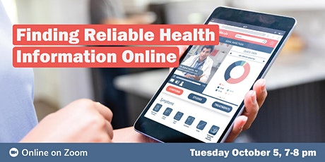 Finding Reliable Health Information Online tickets