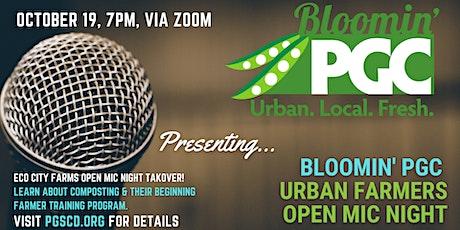 Bloomin' PGC Urban Farmers October Open Mic Night tickets