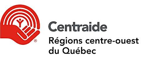 Cadre de financement de Centraide des Régions centre-ouest du Québec billets
