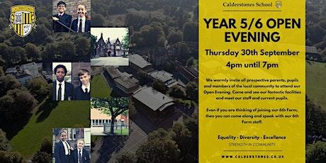 Open Evening 2021 @ Calderstones School tickets
