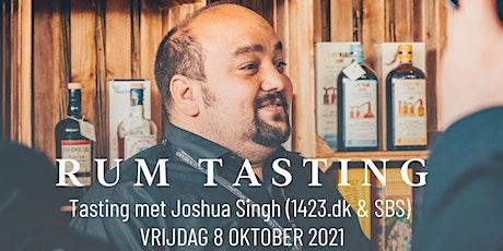 SBS Rum tasting met Joshua Singh tickets