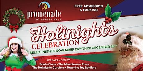 """Holinights"""" Celebration at Promenade Sunset Walk tickets"
