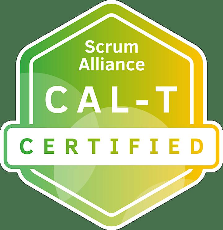Scott Dunn Online Agile Leadership Training Teams CAL -T  Nov.2021 image
