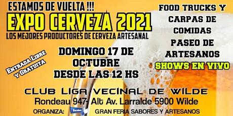 EXPO CERVEZA 2021 entradas