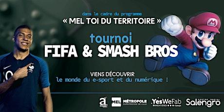 Tournoi FIFA & Smash Bros à Armentières ! billets