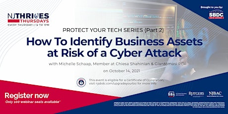 How To Identify Business Assets at Risk of a Cyber Attack tickets
