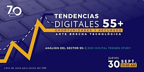 Tendencias Digitales 55+: Oportunidades y Recursos ante Brecha Tecnológica boletos