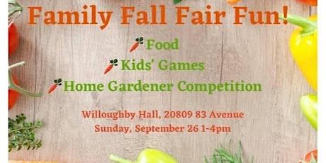 Family Fall Fun Fair tickets