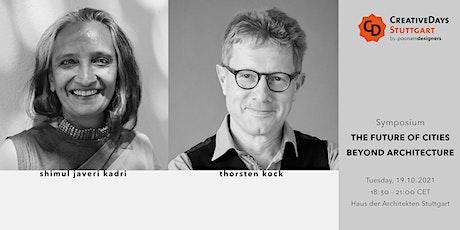 CreativeDays Stuttgart 2021 | Symposium | Architektenkammer BW Tickets