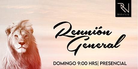 1ra Reunión General Domingo 26.09.21 boletos