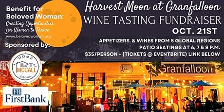 Harvest Moon at Granfalloon Wine Tasting Fundraiser tickets