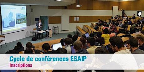 Conférence : La gestion de l'eau un enjeu de société billets