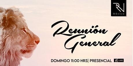 2da Reunión General Domingo 26.09.21 boletos