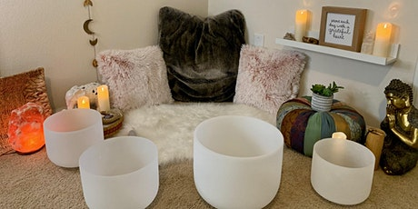 Sound Bath Guided Meditation via Zoom tickets