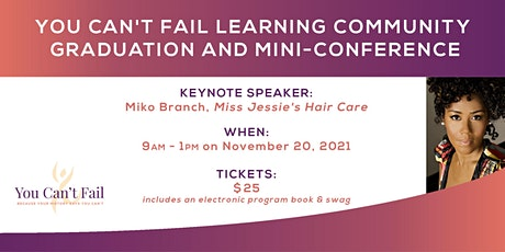 YCF Learning Community Graduation and Mini-Conference tickets