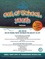 Out of School Youth - Information Sessions tickets