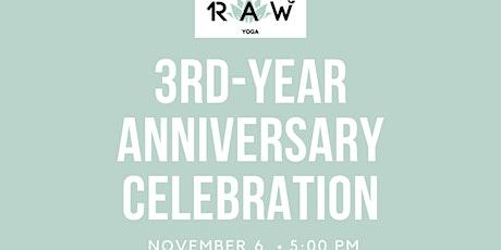 3rd Year Anniversary Celebration tickets