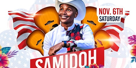 SAMIDOH US TOUR. LIVE SHOW,DALLAS, TEXAS.IT WON'T STOP,CAN'T STOP. tickets