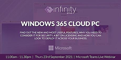 Windows 365 Cloud PC tickets