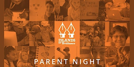 Islands of Brilliance Parent Night • Wednesday, November 17th • 6:30-7:30pm tickets