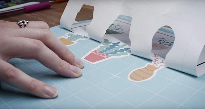Sticker Making with Cricut Craft Workshop (Live over Zoom) Explore / Maker image