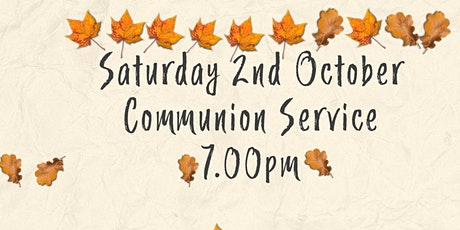 Newcastle Presbyterian Church Saturday Communion Service 2nd Oct tickets