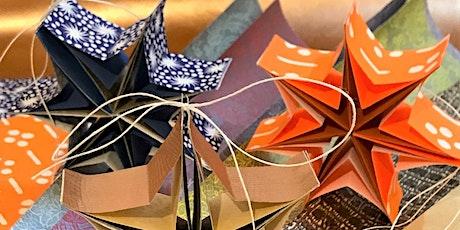 Creative Bookbinding Workshop - Miniature Hanging Star Books tickets