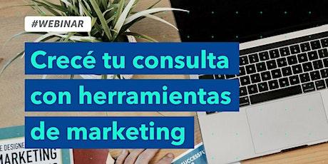 Crece tu consulta con herramientas de Marketing entradas