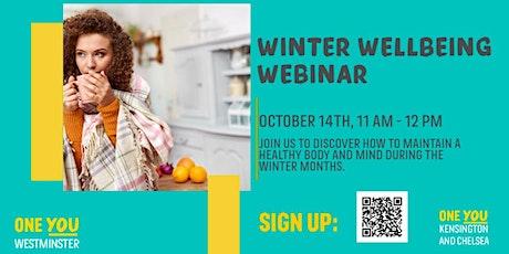 Winter Wellbeing Webinar tickets