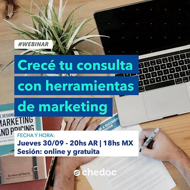 Imagen de Crece tu consulta con herramientas de Marketing