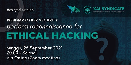 """Webinar """"Perform Reconnaissance for Ethical Hacking"""" tickets"""